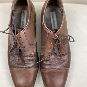 Johnston & Murphy genuine leather men's loafers